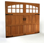 Clopay Garage Doors - Reserve Wood Semi-Custom