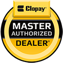 Rissler Door is proud to be a Clopay Master Authorized Dealer